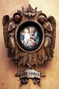 Ave-maria Framed Prints - Angels Watching Over Framed Print by John Rizzuto