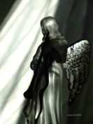 Dark Angels Art - Angels We Have Heard by Donna Blackhall