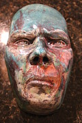Portraits Ceramics Metal Prints - Anger Metal Print by Donovan  Hettich