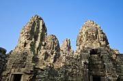 Rocky Statue Photos - Angkor Thom by Bill Brennan - Printscapes