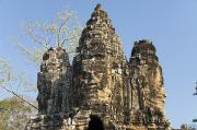 Angkor Thom Prints - Angkor Thom II Print by Gloria & Richard Maschmeyer