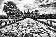 Angkor Art - Angkor Wat by Kate McKenna