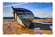 Old Shipwreck Photos - Anglesey Shipwreck by Mal Bray