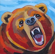 Awesome Originals - Angry Bear by Cilla Mays