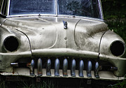 Rusted Cars Photo Acrylic Prints - Angry Acrylic Print by Joan Carroll