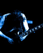 Concert Photos Digital Art - Angus Young on Guitar by Ben Upham