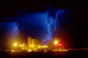 Lightning Bolts Photo Prints - Anheuser-Busch On Strikes Print by James Bo Insogna