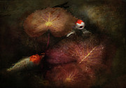 Goldfish Prints - Animal - Fish - I will grant your wishes three Print by Mike Savad