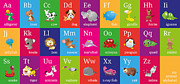 Learning Posters - Animal Alphabet Poster by Michael Tompsett