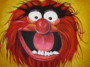 Muppet Prints - Animal Print by Steve Hunter