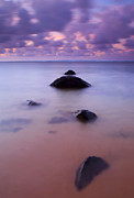 Pastel Photo Originals - Anini Breeze by Mike  Dawson
