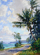 Anini Road Print by Jenifer Prince