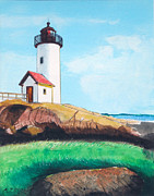 Anthony Ross - Aninisquam Harbor Light