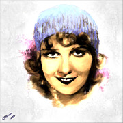 Hollywood Star Framed Prints - Anita Page Framed Print by Arne Hansen