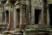 Travel Photography Prints - Ankor Wat Cambodia Print by Bob Christopher