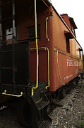 Caboose Photos - Ann Arbor Caboose by Scott Hovind