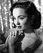 Diamond Ring Framed Prints - Ann Blyth, Ca. 1950s Framed Print by Everett