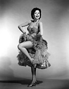 P-g Prints - Ann Miller, 1955 Print by Everett