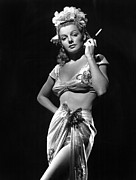 Bare Midriff Prints - Ann Sheridan, Ca. 1940s, Photo Print by Everett