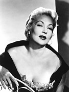 1950s Fashion Metal Prints - Ann Sothern, Nbc, 1957 Metal Print by Everett