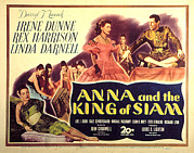 The Clash Prints - Anna And The King Of Siam, Linda Print by Everett