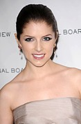 Hair Slicked Back Posters - Anna Kendrick At Arrivals For The Poster by Everett