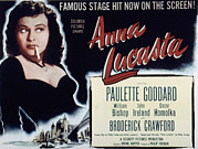 1949 Movies Prints - Anna Lucasta, Paulette Goddard, 1949 Print by Everett