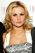 Lounge Prints - Anna Paquin At Arrivals For Hbos True Print by Everett