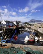 Mourne Prints - Annalong Harbour, Near Mountains Of Print by The Irish Image Collection