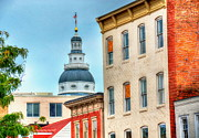 Annapolis Maryland Prints - Annapolis Duomo Print by Debbi Granruth