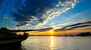 Annapolis Md Prints - Annapolis Sunrise Print by Scott Faunce