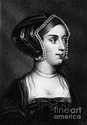 Boleyn Prints - Anne Boleyn, Queen Of England Print by Photo Researchers