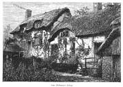 Anne Hathaways Cottage Print by Granger
