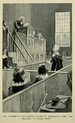 Intolerance Photo Framed Prints - Anne Hutchinson, Charged With Heresy Framed Print by Everett