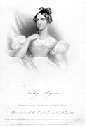 1833 Framed Prints - Anne Isabella Byron Framed Print by Granger
