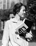 Candid Portraits Prints - Anne Morrow Lindbergh, Wife Of American Print by Everett