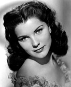 1950s Portraits Prints - Anne Of The Indies, Debra Paget, 1951 Print by Everett