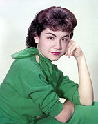 1950s Fashion Prints - Annette Funicello, Ca 1950s Print by Everett