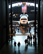 Space Shuttle Enterprise Framed Prints - Annex Framed Print by Brian M Lumley