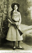 Bsloc Photos - Annie Oakley 1860-1926 American by Everett