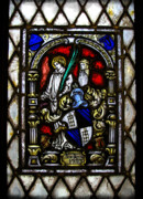 Stained Glass Window Photos - Anno Domini  by Colleen Kammerer