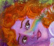 Anne Cameron Cutri - Annunciation Face Detail