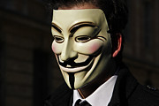 Revolt Digital Art - Anonymous 1 by Laurence Debeaux