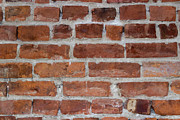 Red Bricks Prints - Another Brick In The Wall Print by Heidi Smith
