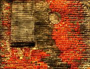 Abandonded Photos - Another Brick in the Wall by Thomas Young