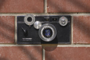 Film Camera Prints - Another Brick Print by Mike McGlothlen