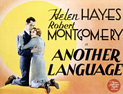 Embracing Posters - Another Language, Robert Montgomery Poster by Everett