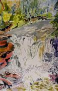 Temperance River Posters - Another Look at the Temperance Falls Poster by Patricia Bigelow