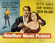 Fid Photos - Another Mans Poison, Gary Merrill by Everett