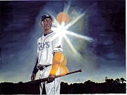 Sports Art Painting Posters - Another Ray on the Horizon Poster by Jason Yoder